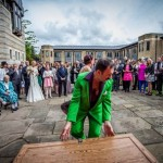 Canterbury cathedral wedding Mustafa open the trunk