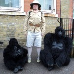 Gorillas and Keeper