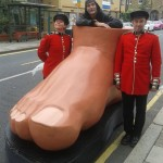 Guarding a Giant Foot