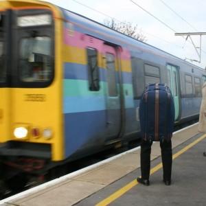 Motional Baggage train platform