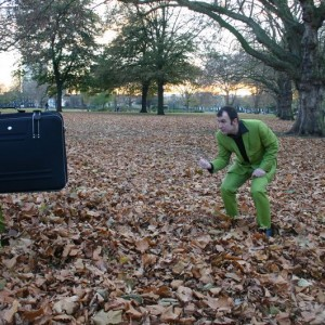 Motional Baggage in the park