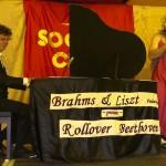 Rollover Beethoven Jake in drag