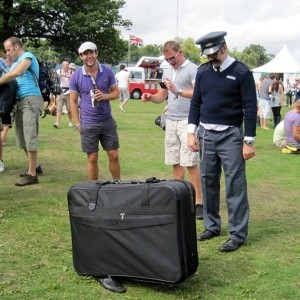 Motional Baggage - festival walkabout