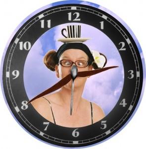Clock face Jo