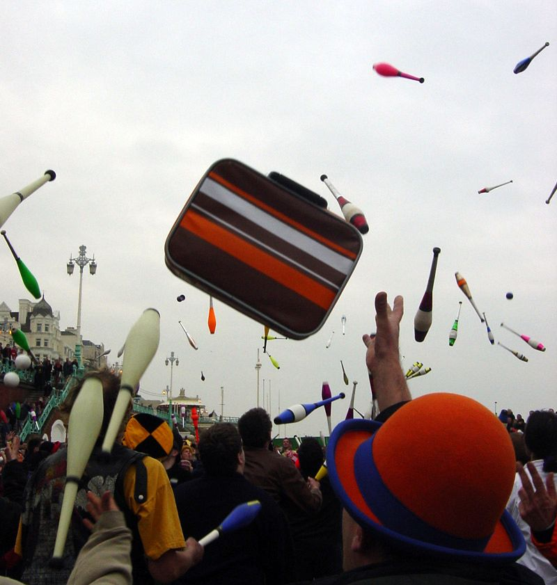 Juggling-tossup