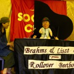 Rollover Beethoven Jo as Baby and Pianist
